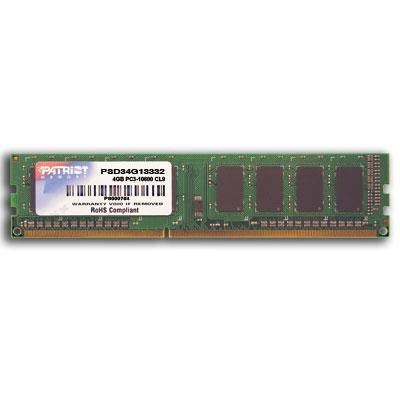 4 GB PC3-10600 (1333 MHz) DDR3 Desktop Memory