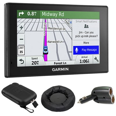 010-01539-01 DriveSmart 50LMT GPS Navigator With GPS Bundle