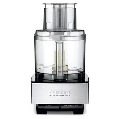 14-Cup Large Food Processor with 720 Watt Motor in Stainless Steel (DFP-14BCNY)