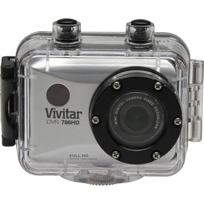 HD Action Waterproof Camera / Camcorder - Silver DVR786HD-SIL
