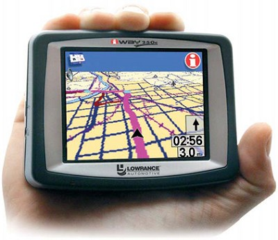 iWAY 250C Portable GPS navigation w/ MP3 Playback and JPEG Viewer