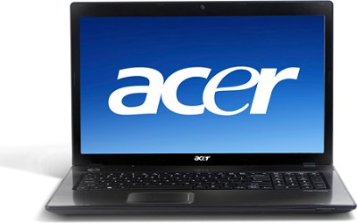 AS7741G  17.3'  i5 Notebook Computer - Black Intel Core  i5-480M Processor