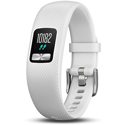 vivofit 4 Activity Tracker W/Color Display, Regular Fit, White 010-01847-01