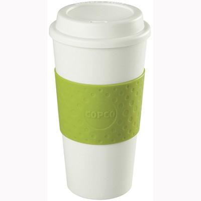 16-Ounce Capacity Acadia Reusable To Go Mug - Green (2510-9964)