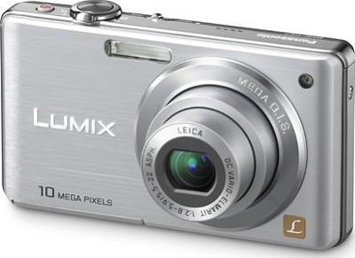 DMC-FS7S LUMIX 10.1 MP Compact Digital Camera w/ 4x Optical Zoom (Silver)