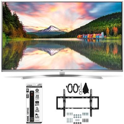 55UH8500 - 55-Inch Super Ultra HD 4K Smart LED TV Flat + Tilt Wall Mount Bundle