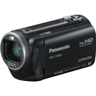 HDC-TM80K HD Twin Memory Camcorder (Black)