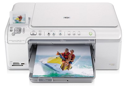 Photosmart C5580 All In One Printer (with Bluetooth adaptor)