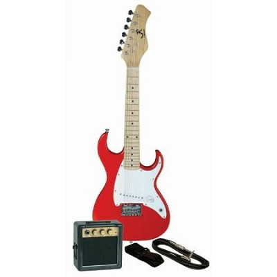 JRPKSTRD Youth Electric Double Cutaway Guitar Pack