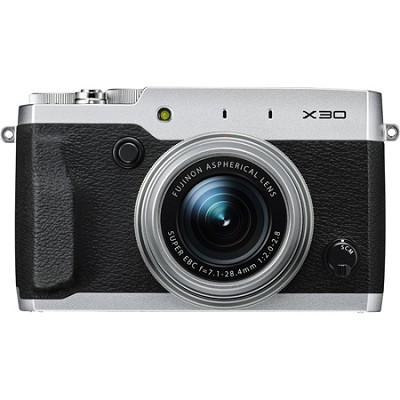 X30 HD 12MP 1080p Silver Compact Digital Camera