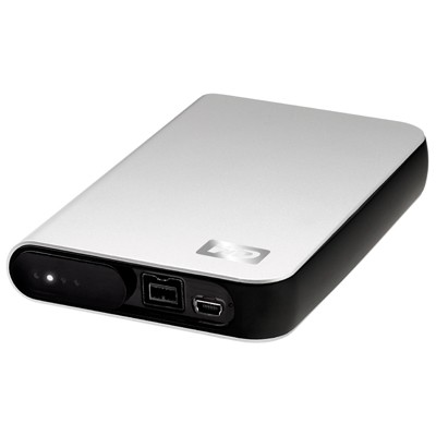 My Passport Studio 320GB Firewire USB 2.0 Portable Storage Formatted for Mac