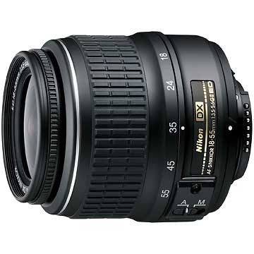 18-55mm f/3.5-5.6G ED II AF-S DX Nikkor Zoom Lens, w/ Nikon - REFURBISHED