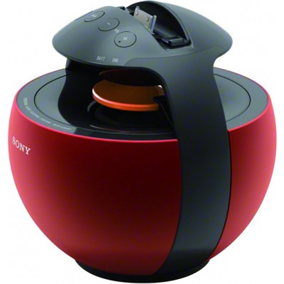 RDPV20IP/RED Portable Dock Speaker for iPod and iPhone (Red)