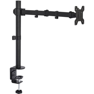 Monitor Mount Stand, Adjustable/Tilt/Articulating, For 1 Screen/27` - STAND-V001