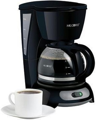 4-Cup Switch Coffeemaker, Black - TF5