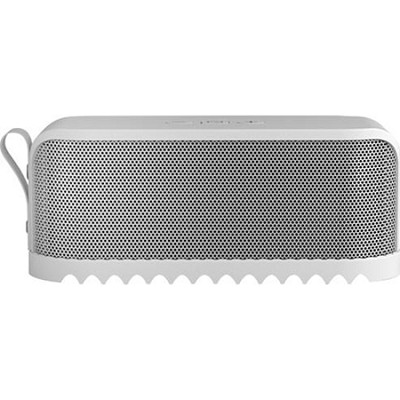 SOLEMATE Wireless Bluetooth Portable Speaker - White - Factory Refurbished