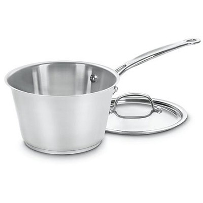 Chef's Classic Stainless 2-Quart Windsor Pan with Cover - 714-18