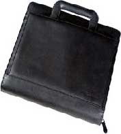 3-in-1 Portfolio Leather - notebook carrying case
