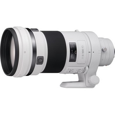 SAL300F28G - G Series 300mm f/2.8 G Super Telephoto Lens for Sony Alpha DSLR's