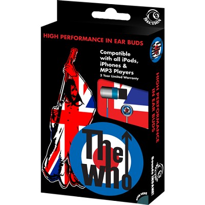RBW-4997- The Who In-Ear Buds Window Box