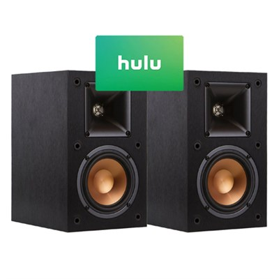 R-14M Reference Bookshelf Monitor Speakers (Pair) And  $25 Hulu Gift Card