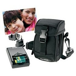 Digital Camera Starter Kit  (Case, 2 AA Batteries, Charger & 128MB SD Card)
