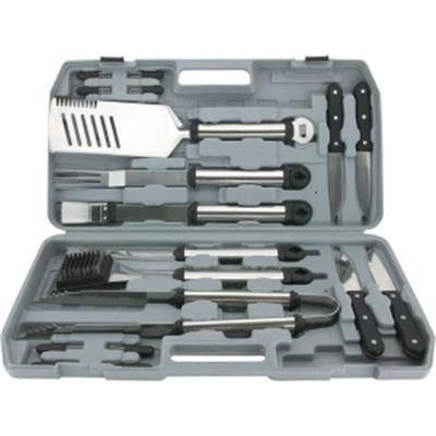 18-Piece Gourmet Stainless Steel Tool Set with Plastic Case - 02099X