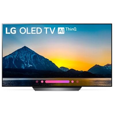 OLED55B8PUA 55` Class B8 OLED 4K HDR AI Smart TV (2018 Model)