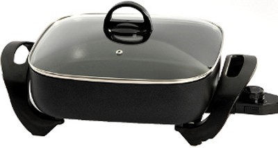 72212 Electric Extra-Deep Square 12-Inch Nonstick Skillet