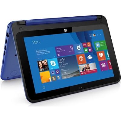 HP Stream 11-p010nr x360 Convertible 11.6` HD Touchscreen Tablet PC - Blue