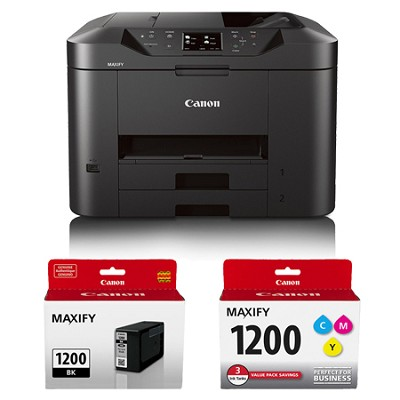 MAXIFY MB2320 Wireless Home Office All-In-One Printer + Bonus Ink Value Bundle