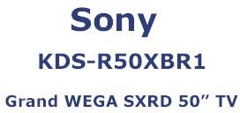 KDS-R50XBR1 Grand WEGA SXRD 50` Rear Projection HDTV