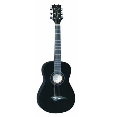 Playmate Mini Acoustic Classic Guitar -  Black - 3/4-Size with Gig Bag OPEN BOX
