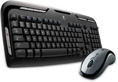 LX 310 Cordless Desktop Keyboard & Laser Mouse