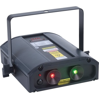 Galaxian 3D Green And Red Multi Beam Laser With 3D Type Gyration