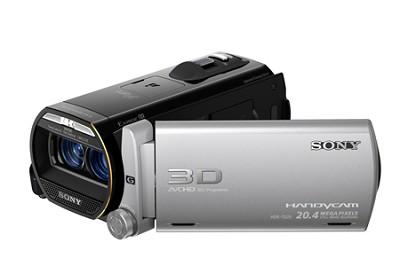 HDR-TD20V HD 3D 64GB Camcorder with Geotagging - OPEN BOX
