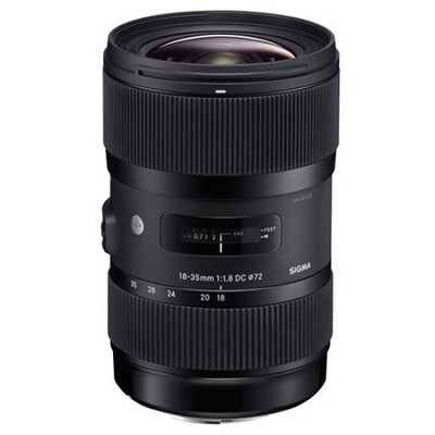 AF 18-35MM F/1.8 DC HSM Lens for Canon - OPEN BOX