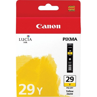 PGI-29 Y - LUCIA Series Yellow Ink Cartridge for Canon PIXMA PRO-1 Printer