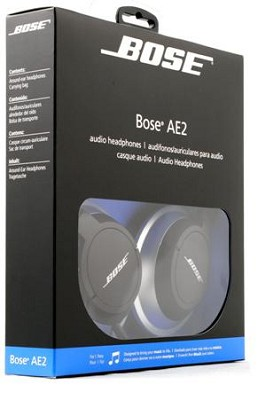 AE2 audio headphones - OPEN BOX