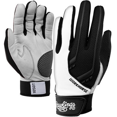 BGP1050T - 1050 Workhorse Batting Gloves, Black, Medium