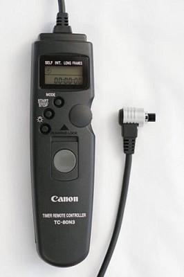 TC-80N3 Timer Remote Control for EOS 5D, D30, D60, D10, 1D, 1V & 20D SLR Cameras