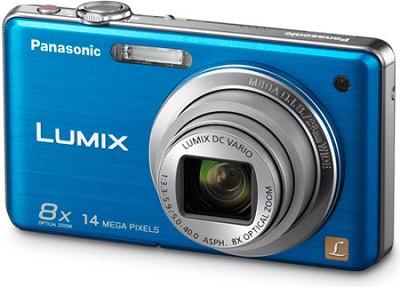 DMC-FH20A LUMIX 14.1 Megapixel Digital Camera (Blue) - Open Box