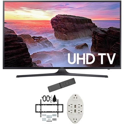 40` 4K Ultra HD Smart LED TV 2017 Model with Wall Mount Bundle