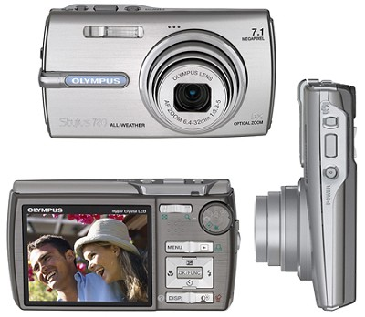 Stylus 780 7.1 Megapixel with 5x Optical Zoom (Silver)
