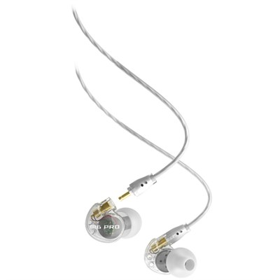 M6 Pro Universal-Fit Noise-Isolating Musician's In-Ear Monitors - Clear