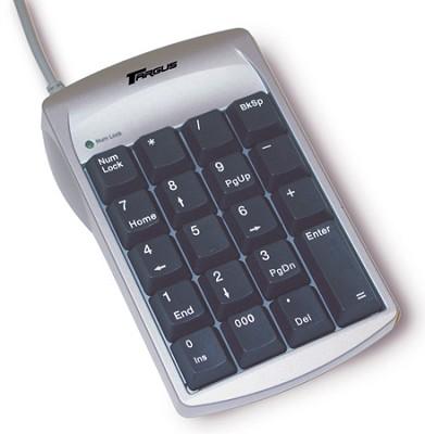 Numeric Keypad with 2-Port Hub