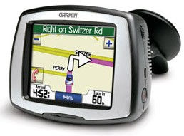StreetPilot c550 In-car navigation GPS Receiver w/ Integrated Traffic Receiver