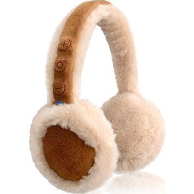 Bluetooth 100% Wool Earmuff Headphones with Mic - OPEN BOX