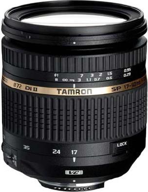 SP AF 17-50mm F/2 8 XR Di II VC LD Lens for Nikon AF - OPEN BOX