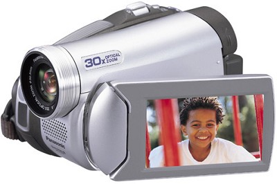 PV-GS39 Digital Palmcorder With 30x Optical Zoom / 2.7` LCD - Refurbished